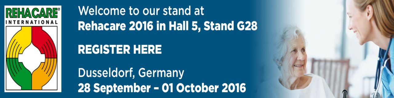 We are exhibiting at Rehacare 2016