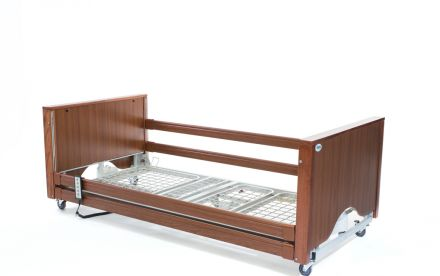 Alerta Encore Low Bed Walnut (1)