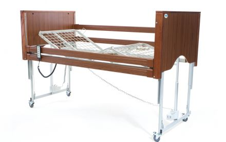 Alerta Encore Low Bed Walnut (2)