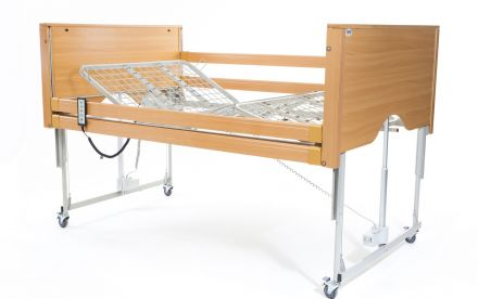 Alerta Encore Bariatric Low Bed Beech (2)